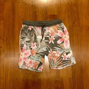 Boys Art Class Floral Print Shorts
